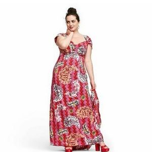 Zac Posen for Target Floral Dress